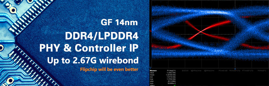 INNOSILICON Announce the World's First GF14nm DDR4/LPDDR4 PHY &Controller IP Silicon Proven